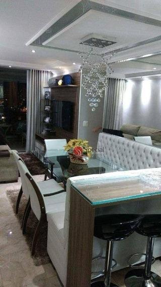 Apartamento Na Água Rasa Novo E Mobiliado! - Ap10055