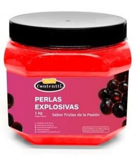 Perlas Explosivas Frutas De La Pasión Maracuya Jarabe