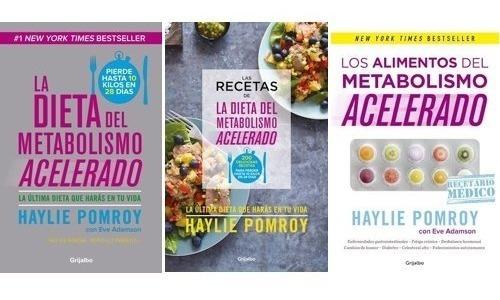 Imagen 1 de 5 de Pack Dieta Metabolismo Acelerado (3 Libros) - Haylie Pomroy