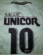 9535f0a56d Camiseta Do Santos Rhumell Antiga 1996 Ótimo Estado - 38 · R  249 ...