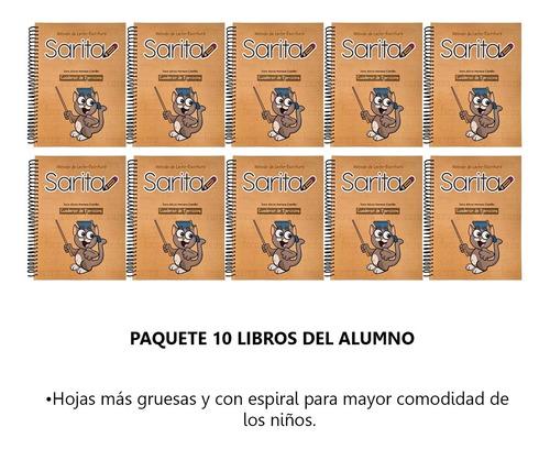 Imagen 1 de 7 de Método Sarita: Cuaderno Ejercicios Del Alumno 10 Piezas