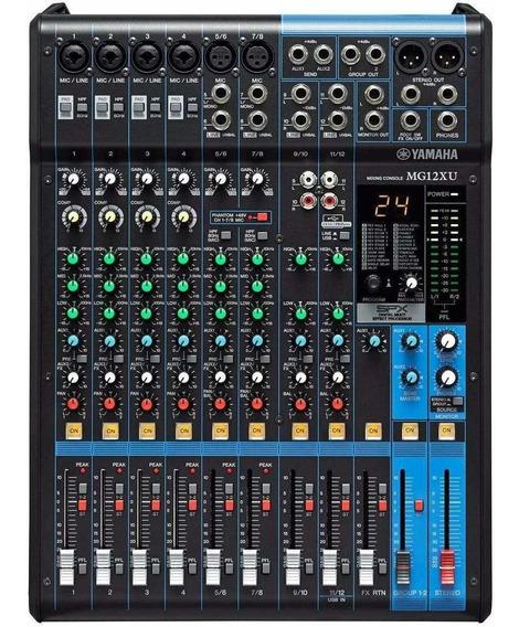 Mesa De Som Yamaha Mg12xu | 12 Canais | Garantia 1 Ano