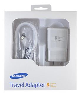 Cargador Samsung Original Carga Rapida S6 S7 J7 J5 J4 A5 A7 A8 (2016) Note 5 Tab 3 4 Tab E Tab A