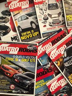 Lote 40 Edições Revista 4 Quatro Rodas 11/12/14