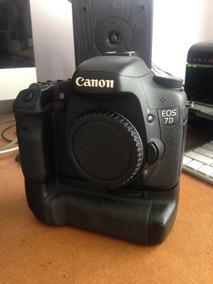 Canon 7d (corpo) + Grip + Bateria - Sem Detalhes
