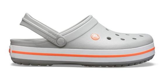 Crocs Originales Crocband Kids Gris - Coral Sku C10998lb