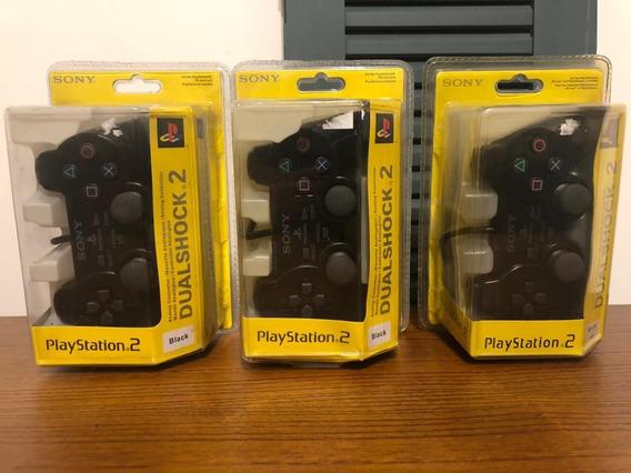 Controle Dualshock 2 Playstation 2 Original Sony Lacrado!!