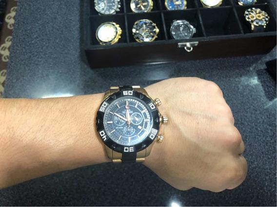 Relógio Swiss Precimax Banhado Ouro