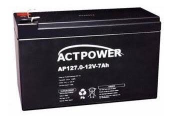 Bateria Selada 12v 7a Actpower Promoção