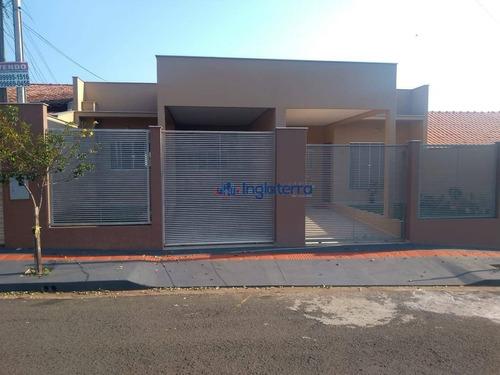 Casa À Venda, 72 M² Por R$ 198.000,00 - Lindóia - Londrina/pr - Ca1413