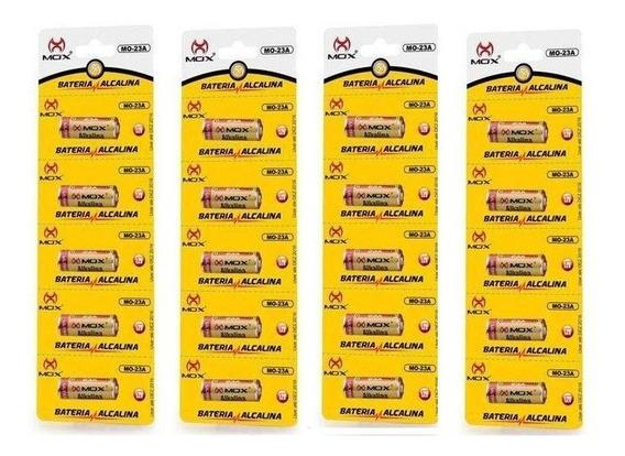 Bateria Mox Mo-23a 12v Alcalina 4 Cartelas Com 5 Uni Cada