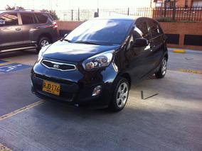 Kia Picanto Ion Hatchback Ext. 1248 Cc Negro 2012.