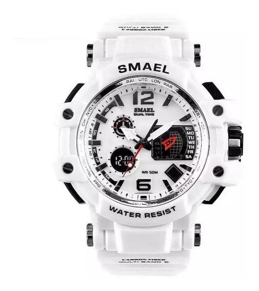 Relógio Smael 1509 Militar Shock Original Varias Cores