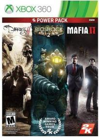 2k Power Pack Collection 3x1 - Xbox 360 (mídia Física)