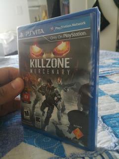 Killzone Mercenary Ps Vita 100% Nuevo, Original Y Sellado