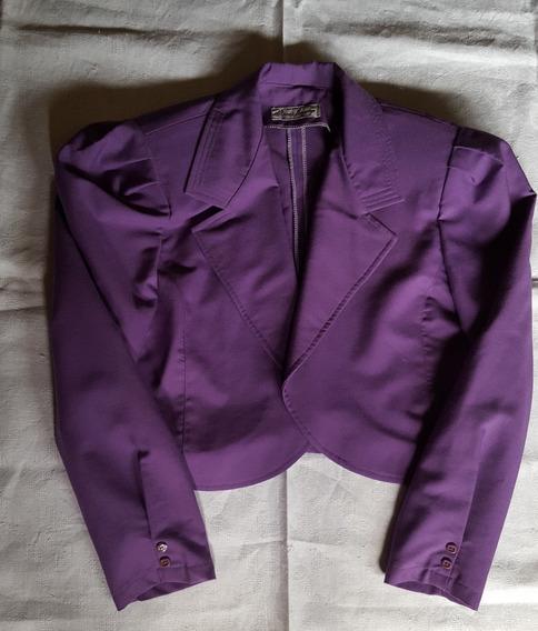 Conjunto Saco, Pantalón, Blusa - Color Violeta