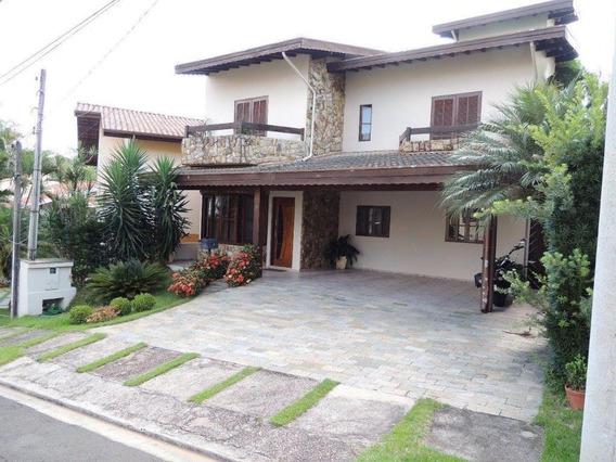 Casa Com 4 Dormitórios À Venda, 298 M² Por R$ 890.000,00 - Condominio Villagio Florença - Valinhos/sp - Ca2295
