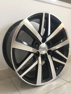 Llantas Toyota Hilux Sw4 Y Srx R20 Negra Diamantada