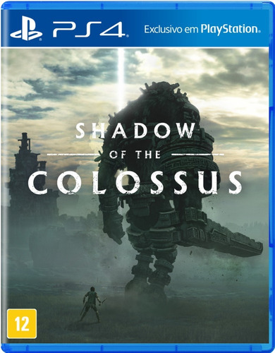 Shadow Of The Colossus - Ps4 - Novo - Mídia Física - Br
