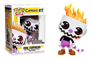 Funko Pop! Games Evil Cuphead 417 Exclusive