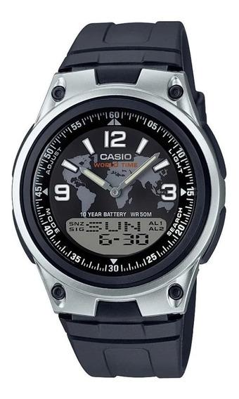 Relógio Casio Masculino 0riginal Anadigi Aw-80 + Frete + Nf