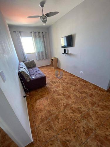 Imagem 1 de 9 de Apartamento Com 1 Dormitório À Venda, 29 M² Por R$ 110.000 - Ocian - Praia Grande/sp - Ap0309