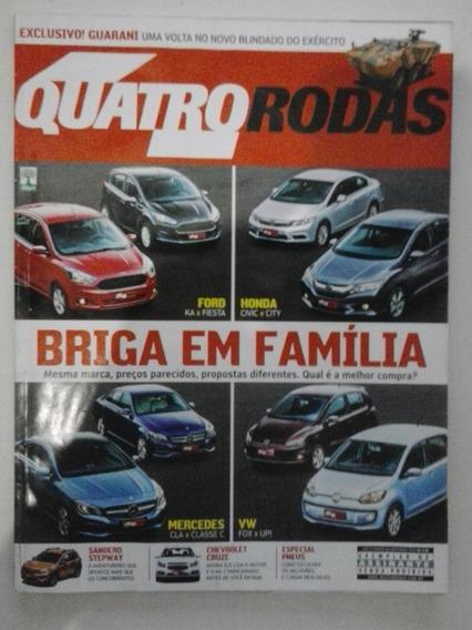 Revista Quatro Rodas N° 663 - Novembro 2014 - Frete Grátis