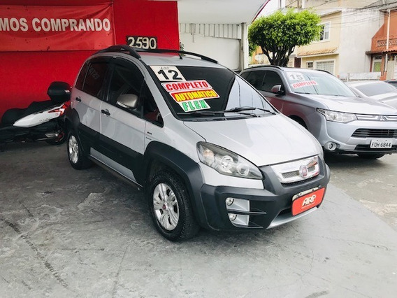 Fiat Idea Adventure 1.8 Flex 2012 Prata