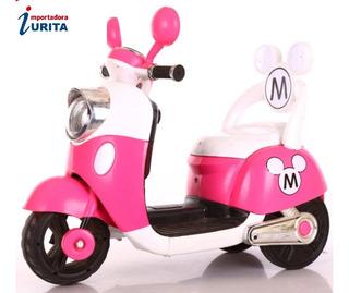 Moto Eléctrica Mickey - Minnie Al Por Mayor Y Menor