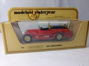 Matchbox Yesteryear Y6 Rolls Royce 1920 Escala 1:48 Novo