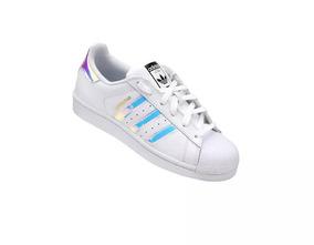 73364f5b778 Adidas Superstar Holografico Feminino Star - Tênis no Mercado Livre ...