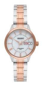 Relógio Orient Feminino Ref: Ftss2002 S2sr Social Bicolor
