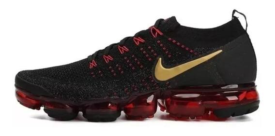 Tênis Nike Air Vapormax 2.0 Preto E Vermelho Lançamento 2020