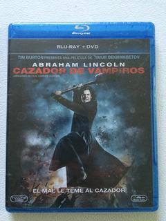 Abraham Lincoln Cazador Vampiros En Blu Ray Y Dvd Nueva