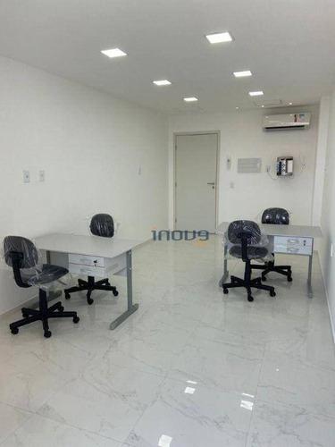 Imagem 1 de 10 de Sala Comercial Quartier Cambeba - Sa0018