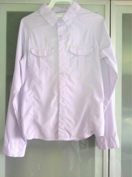 Camisa Columbia Como Nueva Niña Talla M (10-12) Original -15