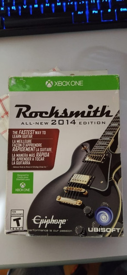 Rocksmith 2014 Com Cabo Xbox One Midia Fisica