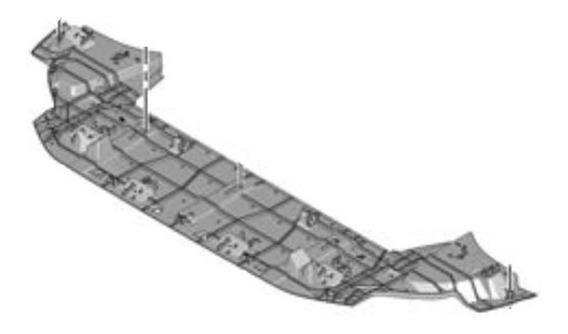 Deflector Inferior Paragolpe Delantero Peugeot 308 1.6