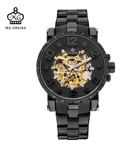 Relógio Mecânico Automático Mg Orkina Kronos Original.