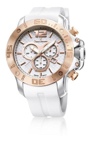 Relógio Pulso Jean Vernier Cronógrafo Masculino Jv02111