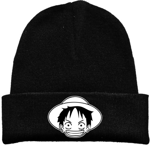 Gorro Lana One Piece Anime Manga Tv Estampado Urbanoz