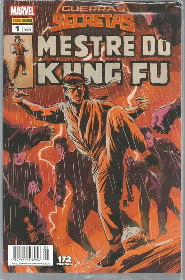 Guerras Secretas Mestre Do Kung Fu 1 - Bonellihq Cx34 D19