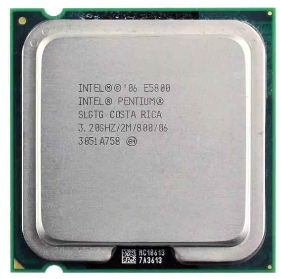 Processador Intel Pentium E5800 3.20ghz.800fsb 775