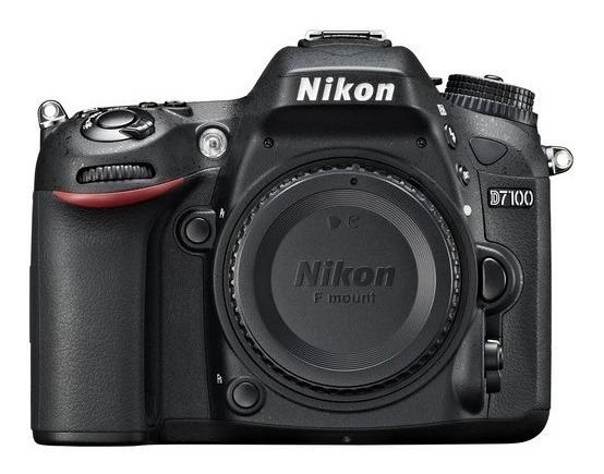 Câmera Nikon D7100 - Corpo - Pouco Uso
