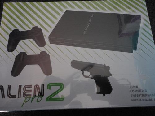 Consola De Video Juego Family Alien 2 Incluye Super Mario