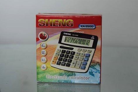 Lote 10 Calculadoras Calculadora Sheng 12 Dígitos Grande