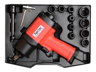 Pistola De Impacto Aire Neumatica 1/2 Pulg 800 Newton Ferton