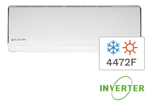 Imagen 1 de 4 de Aire Acondicionado Split Inverter Frío/calor Electra 4472f 5