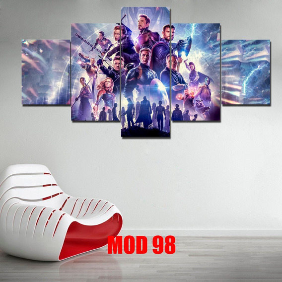 Cuadros Marvel, Infinity War, Endgame, Ironman, Avengers
