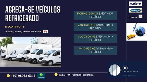 Agregamos Veículo Refrigerado Fiorino - Van - Vuc - 3/4